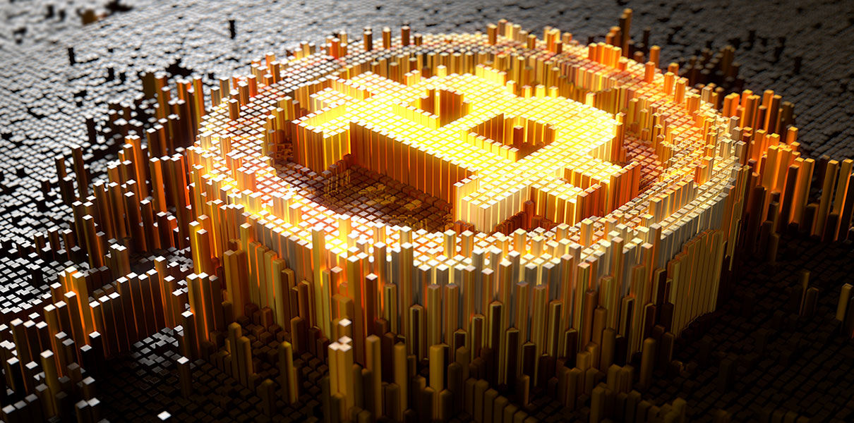 """A trader on the Amsterdam Stock Exchange saw a price """"bottom"""" for bitcoin"""